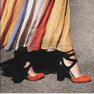 faryl robin x free people vegan suede heels